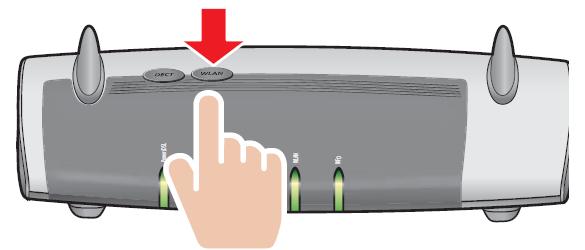 WLAN WPS sieć konfiguracja klucz sieciowy PIN FRITZ!Box