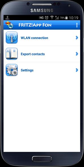 FRITZ!App Fon konfiguracja aplikacja VoIP telefon smartfon android